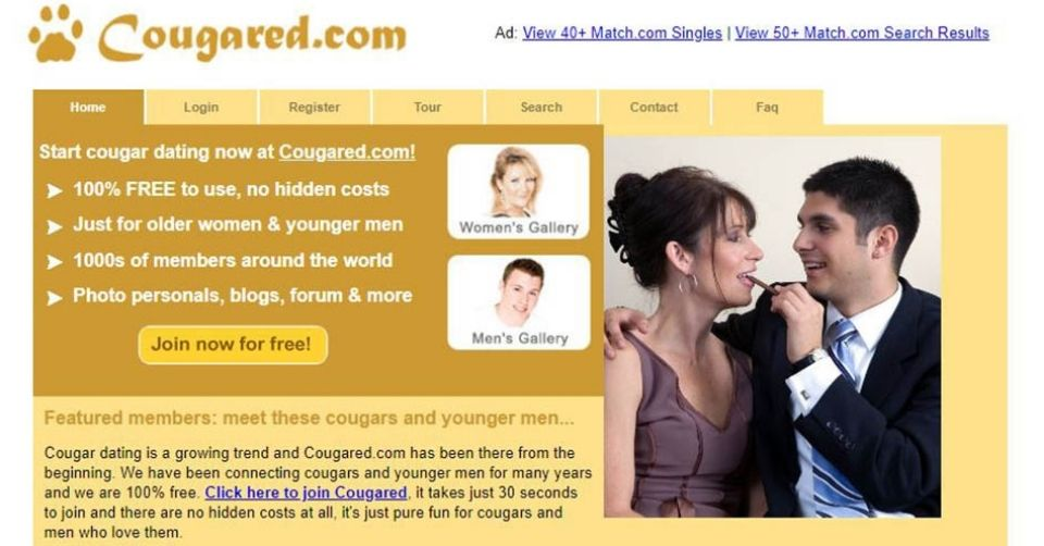 Homepage of cougared.com
