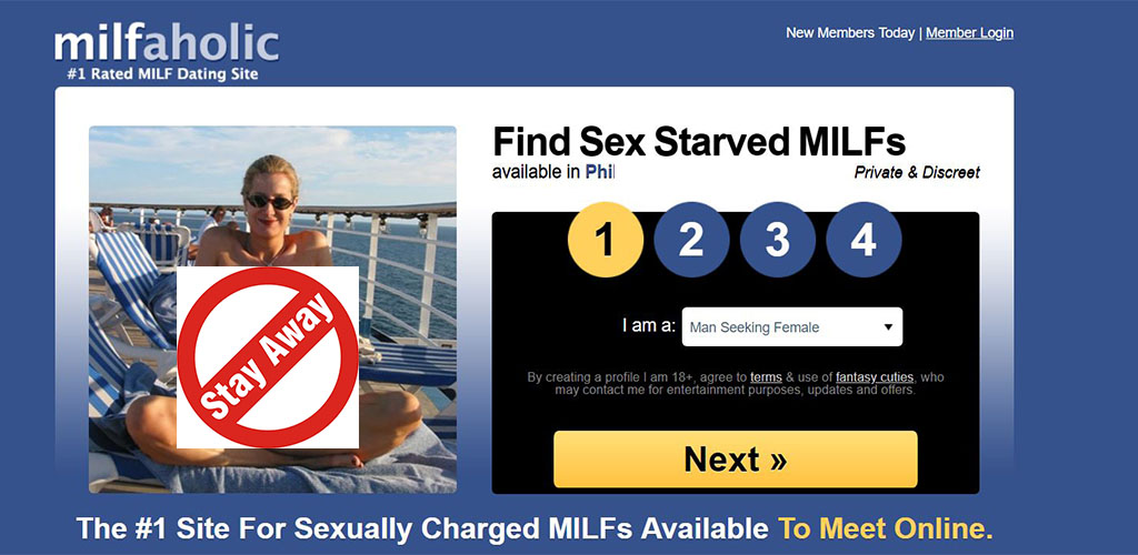 Hookup Sites Easiest way to looking for a milf for sex without commitment in your 20s