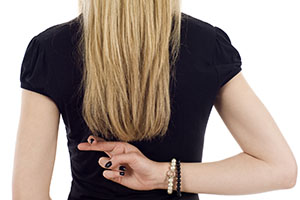 lies women tell when online dating