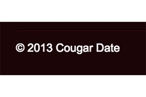Cougar Date Review Cougar Date copyright