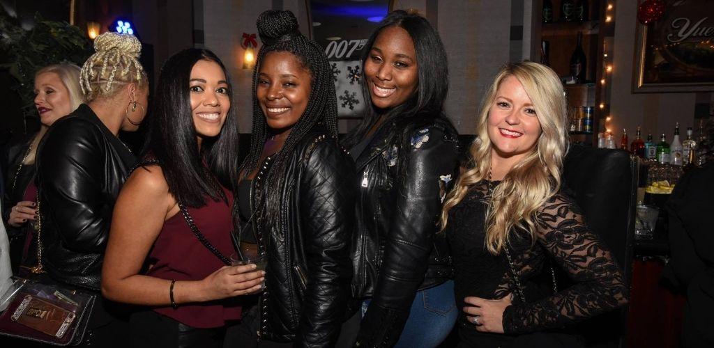 Cincinnati MILFs hanging out and having drinks at Scene Cincinnati
