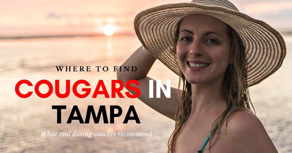 A Tampa cougar at the beach