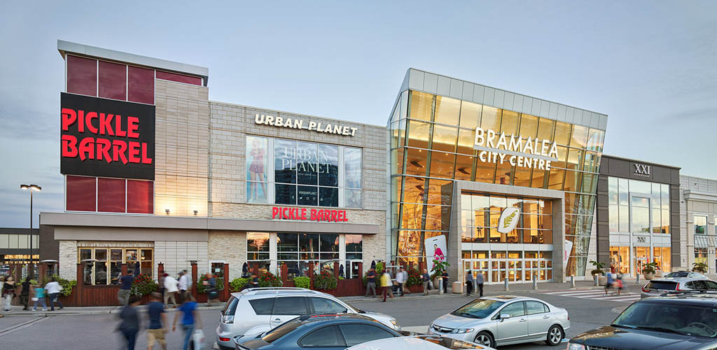 Front of Bramalea City Centre
