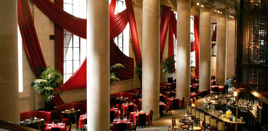Enjoy a truly special dinner with cougars in Philadelphia at Del Frisco's