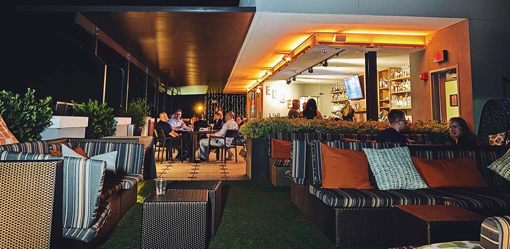 A laidback evening at Edge Rooftop Cocktail Lounge