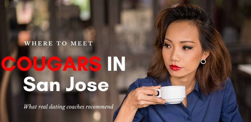 Classy cougars in San Jose California hang out at a variety of spots in the city