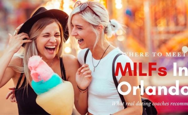 Two MILFs in Orlando laughing on the street