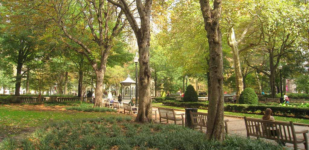 A sunny afternoon at Rittenhouse Square
