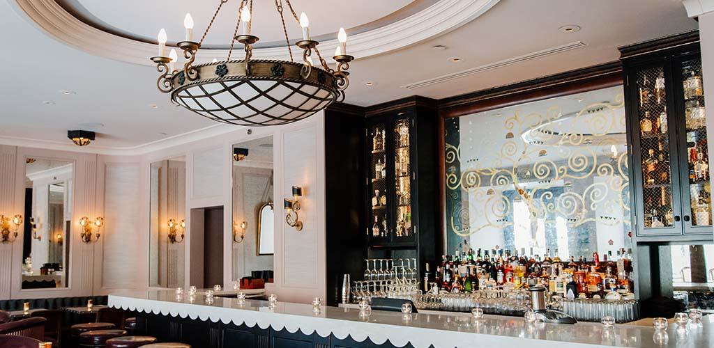 The elegant bar at Rouge