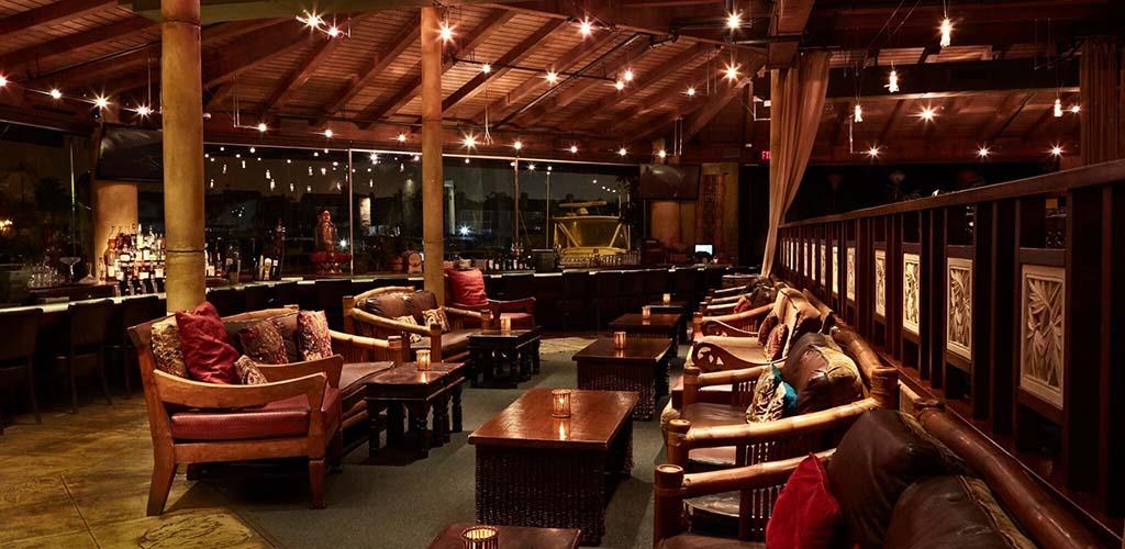 The classy interior of Tantalum Restaurant