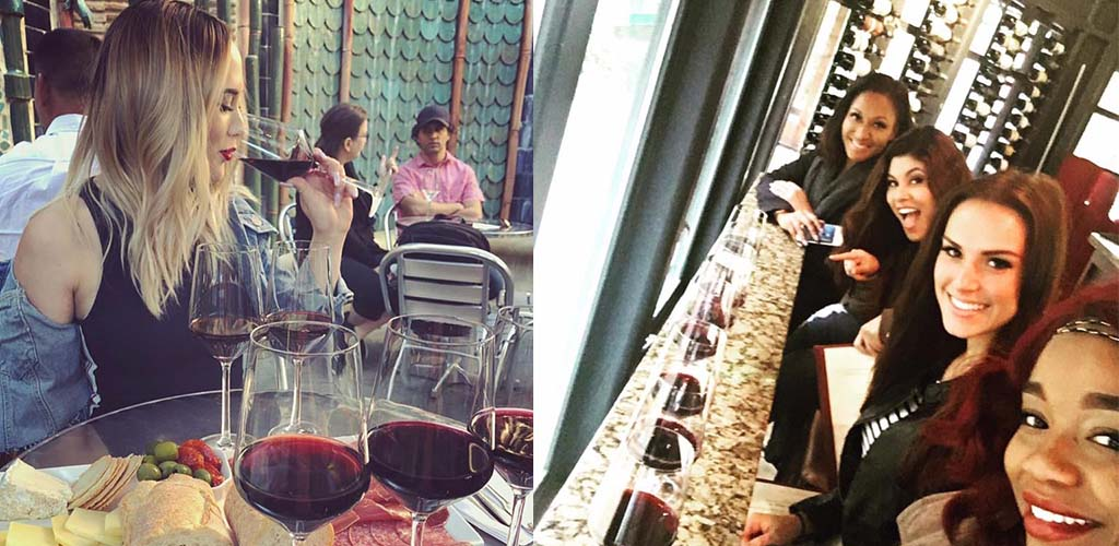 Wine and dine beautiful San Jose cougars at Vintage Wine Bar