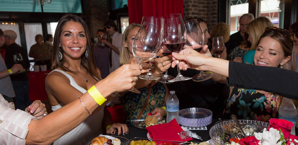Ybor City Wine Bar for educational wine tastings with Tampa cougars