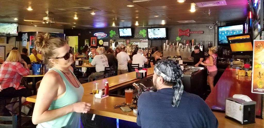Happy hour at McCarthy's Bar and Grill