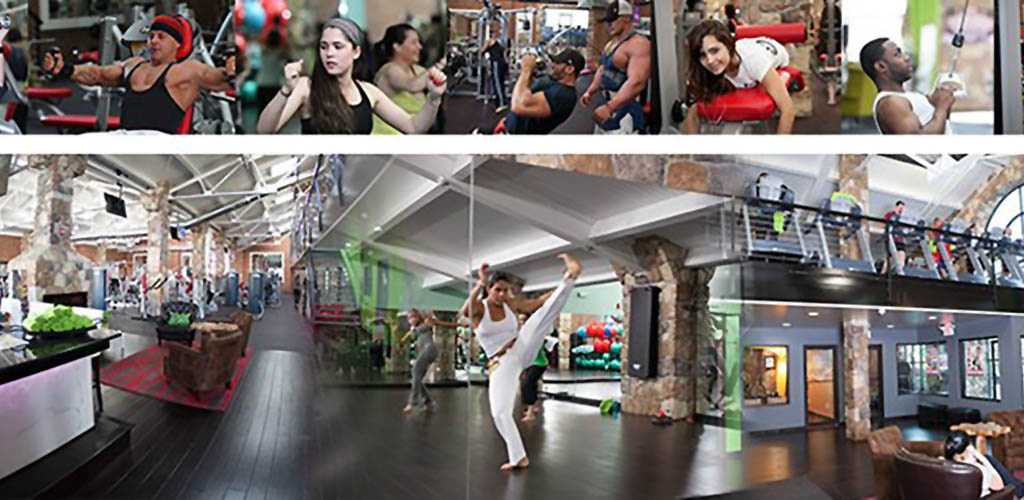A variety of activities available at Evolution Fitness Gym