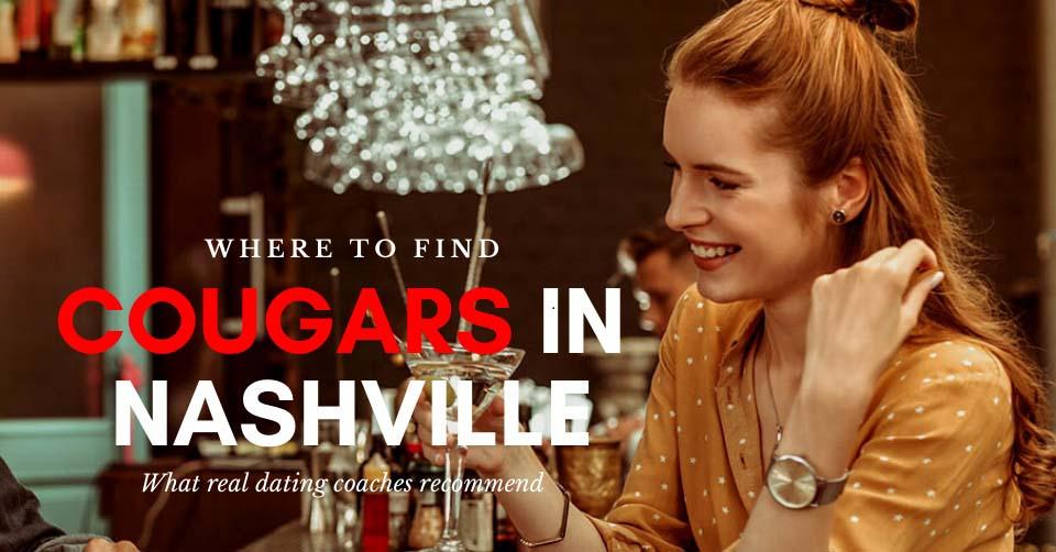 A Nashville cougar at a bar