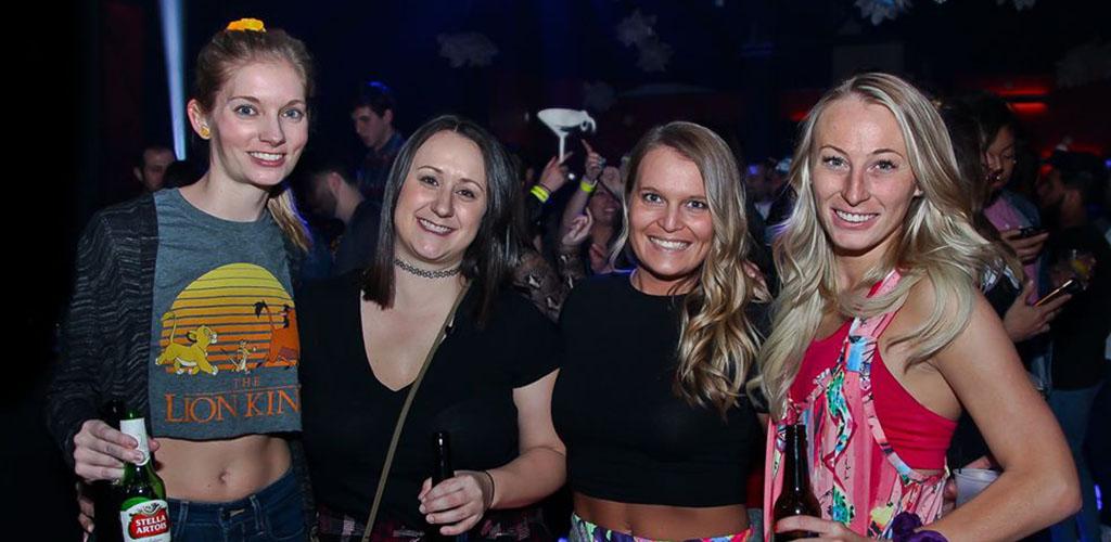 Sexy women having fun at Boogie Fever Café & Disco