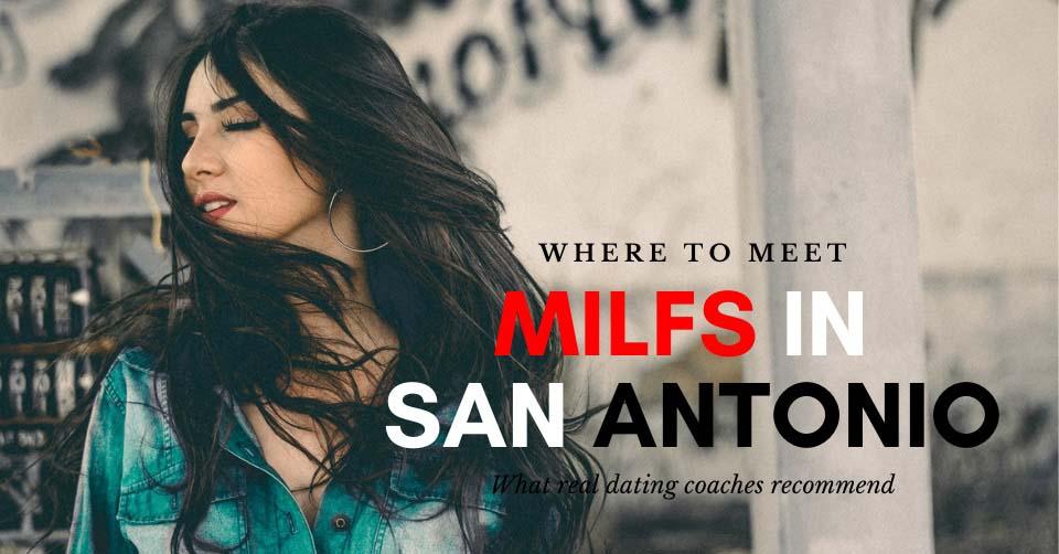 A MILF in San Antonio in a restaurant