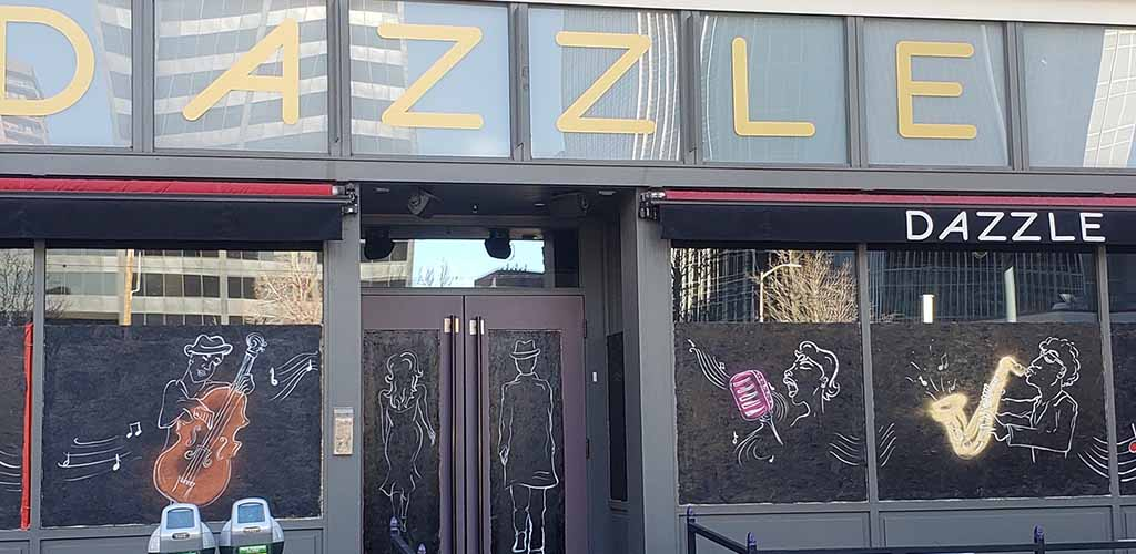Exterior of Dazzle Jazz Restaurant and Bar