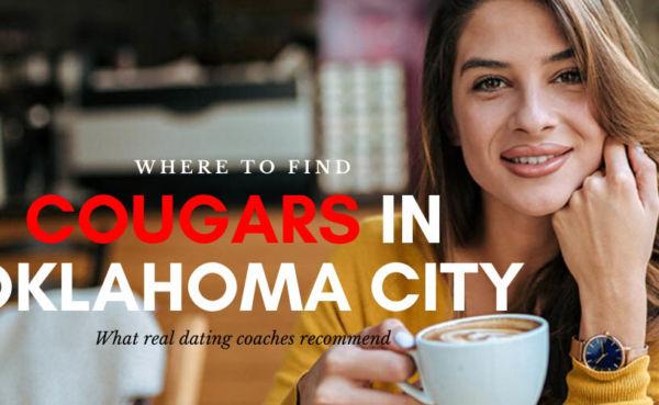 An cougar in Oklahoma City at a café