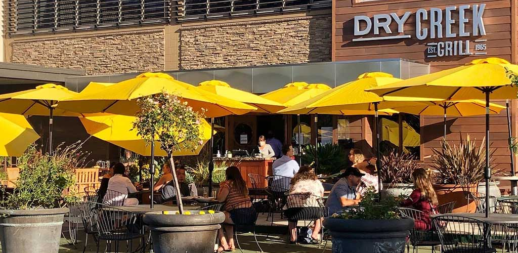 A full afternoon at Dry Creek Grill