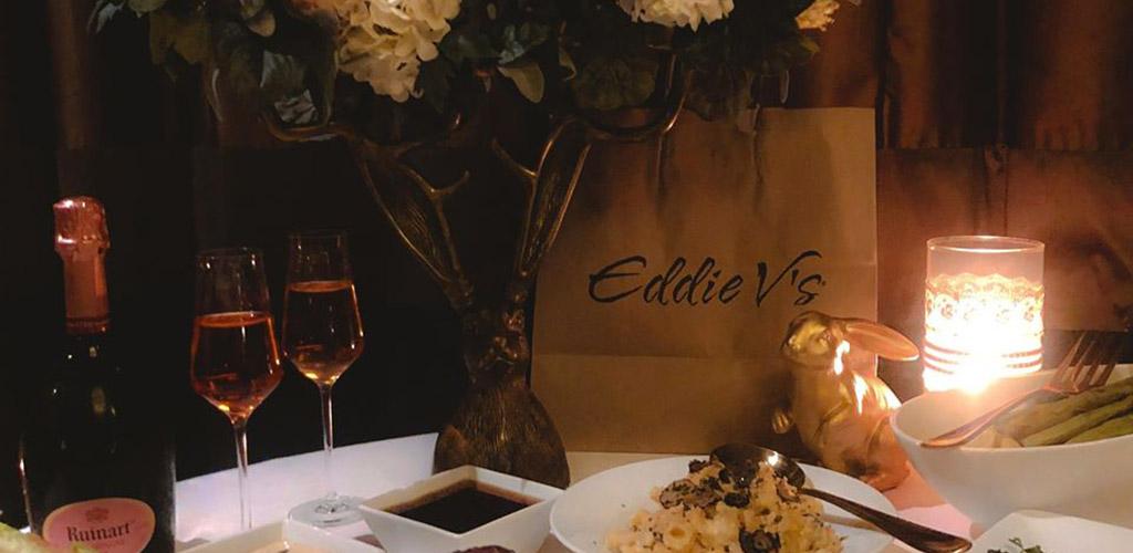 Eddie V's candle light dinner