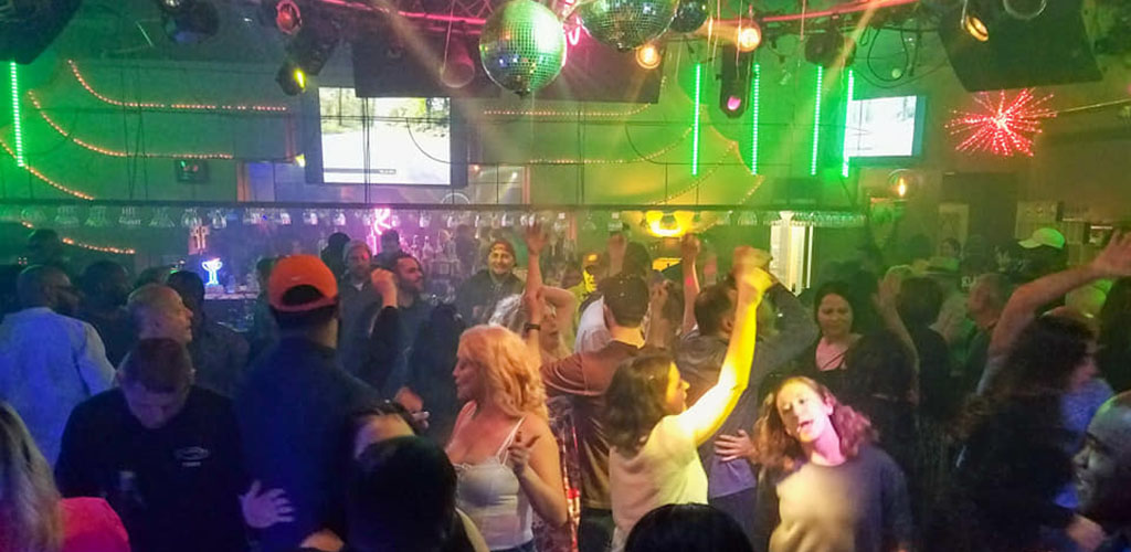 The lively dance floor of Groovy's