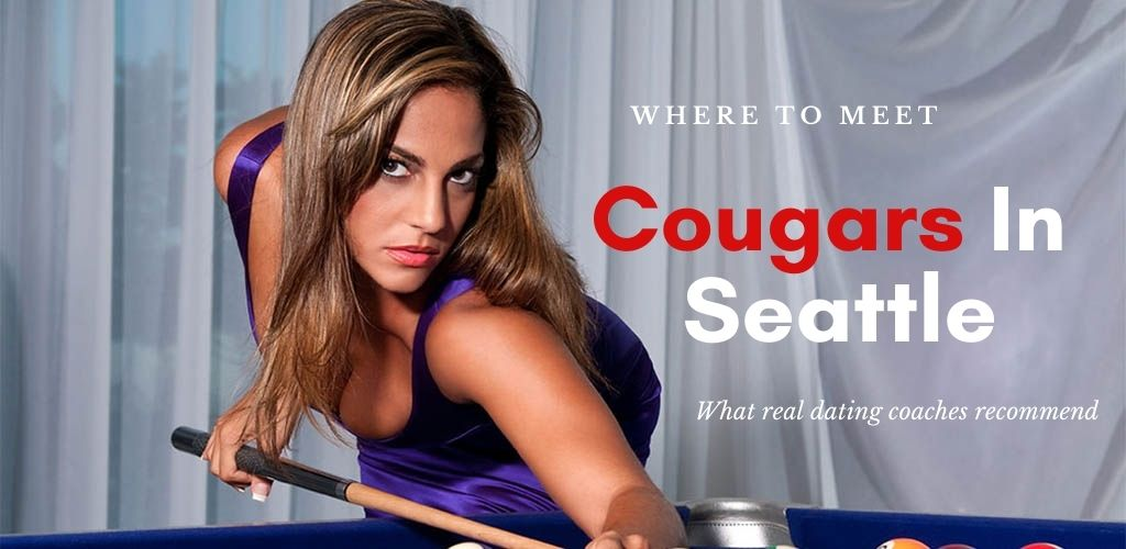 Cougars in Seattle are beautiful and seductive