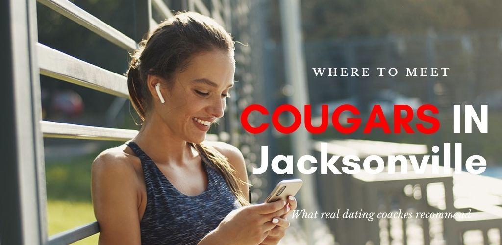 Single cougar in Jacksonville taking a break from jogging