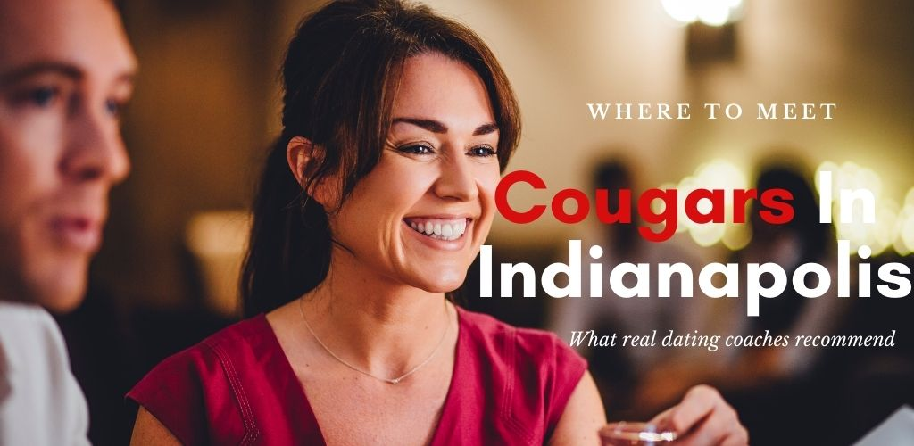 An Indianapolis cougar in a bar on a date