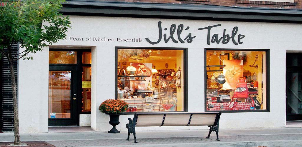 Exterior of Jill's Table