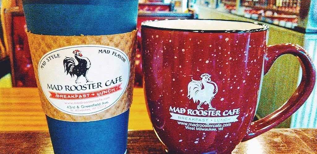 Good coffee from Mad Rooster Cafe