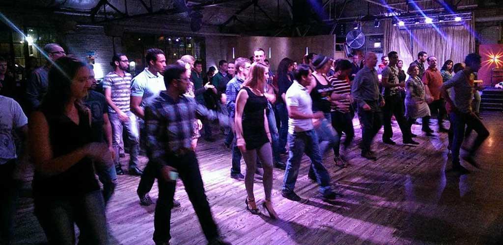 A dance class at La Rumba