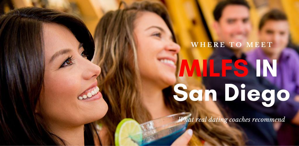 Two San Diego MILFs having a drink