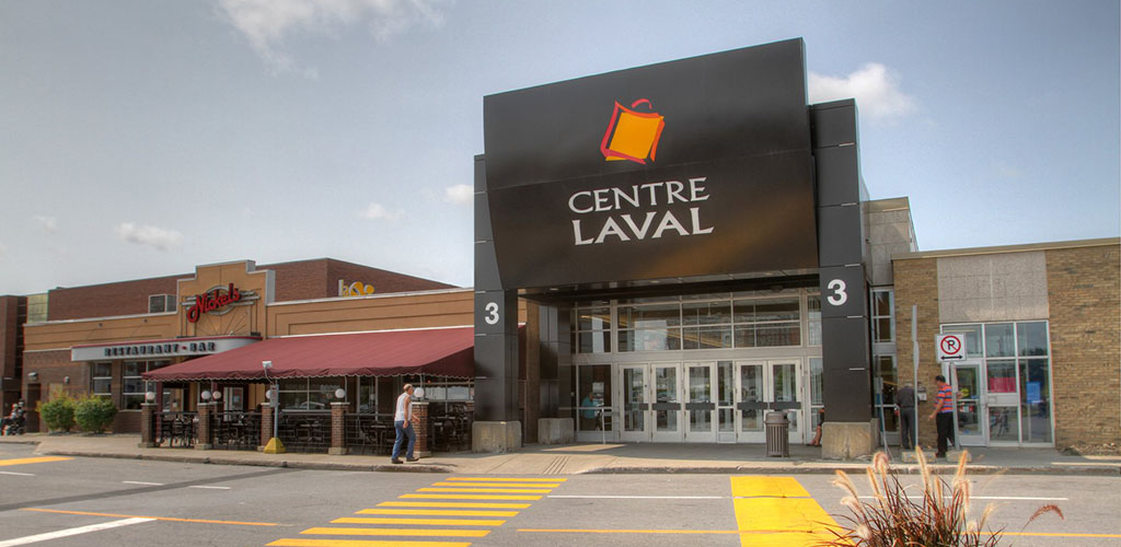 Exterior of Centre Laval