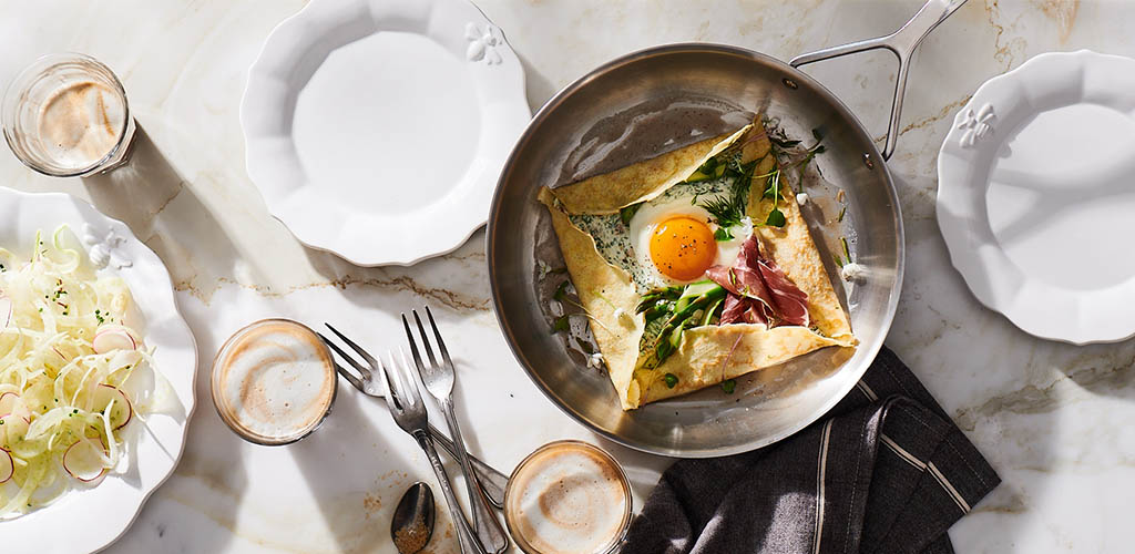 Brunch dishes from Sur La Table