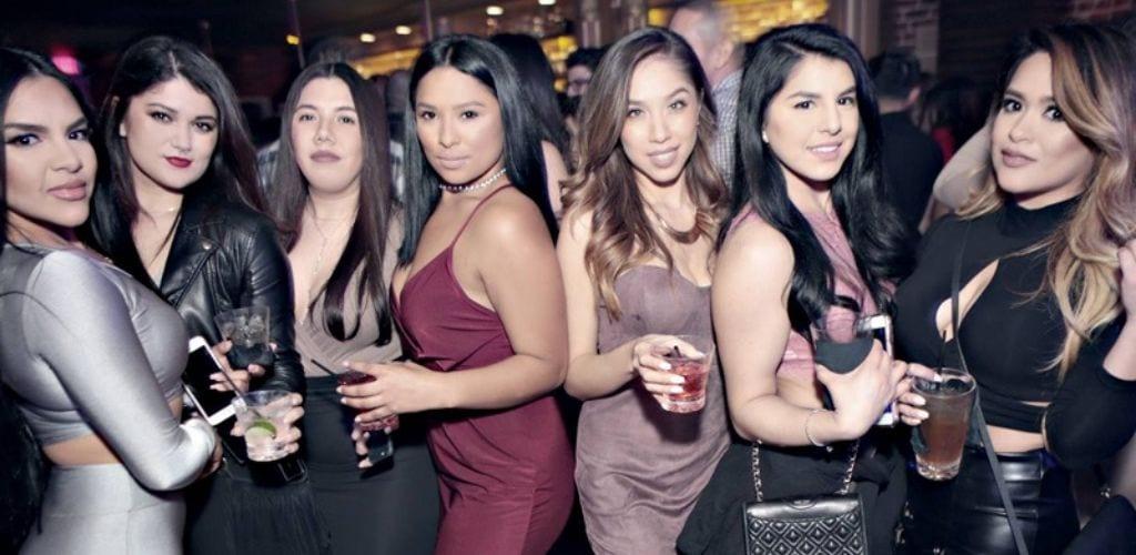 Hot San Jose cougars enjoying their drinks at Avery Lounge