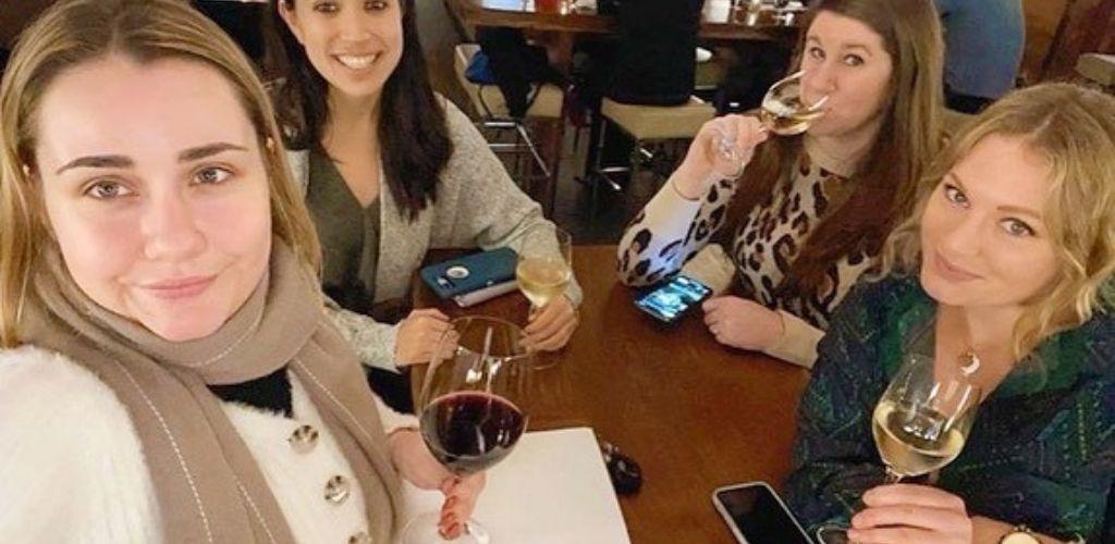 San Francisco cougars enjoying early drinks at Press Club