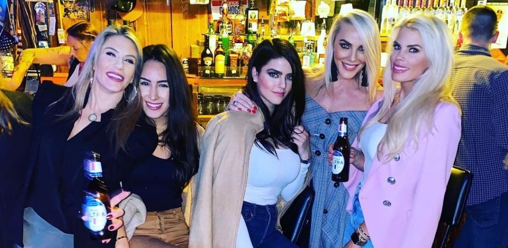 Dallas MILFs hanging by the bar at Time Out Tavern in Dallas