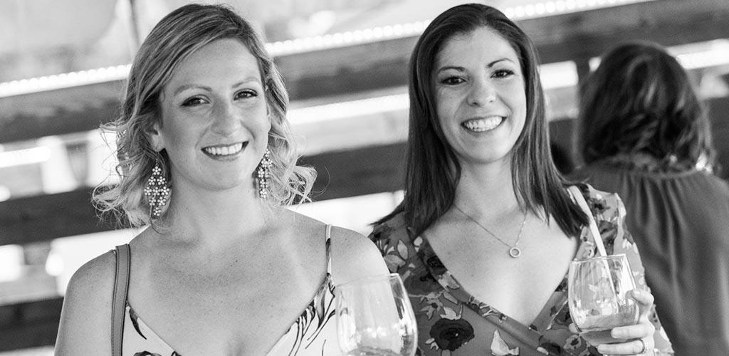 Women enjoying some wine at Winslow's Wine Cafe
