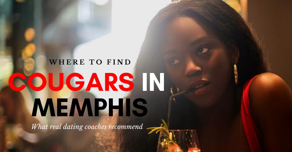A beautiful Memphis cougar at a bar