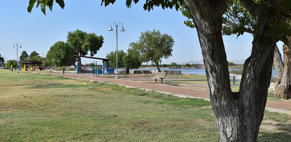 Ascarate Park during the afternoon