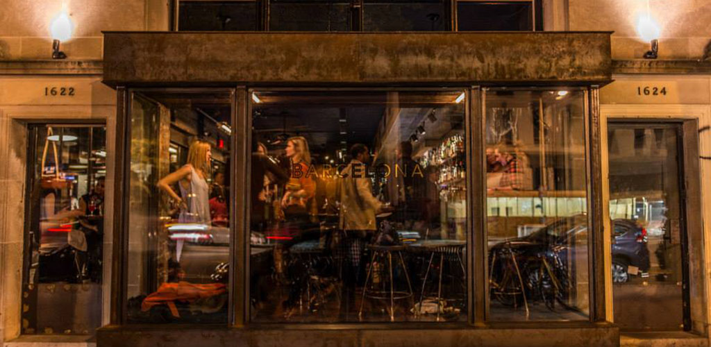 Find the Washington DC cougar of your dreams sipping wine at Barcelona Wine Bar