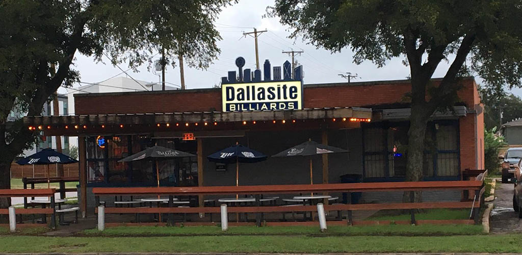 Dallasite before opening