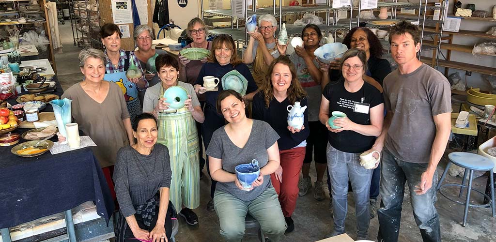 San Jose MILFs in a pottery class at Higher Fire