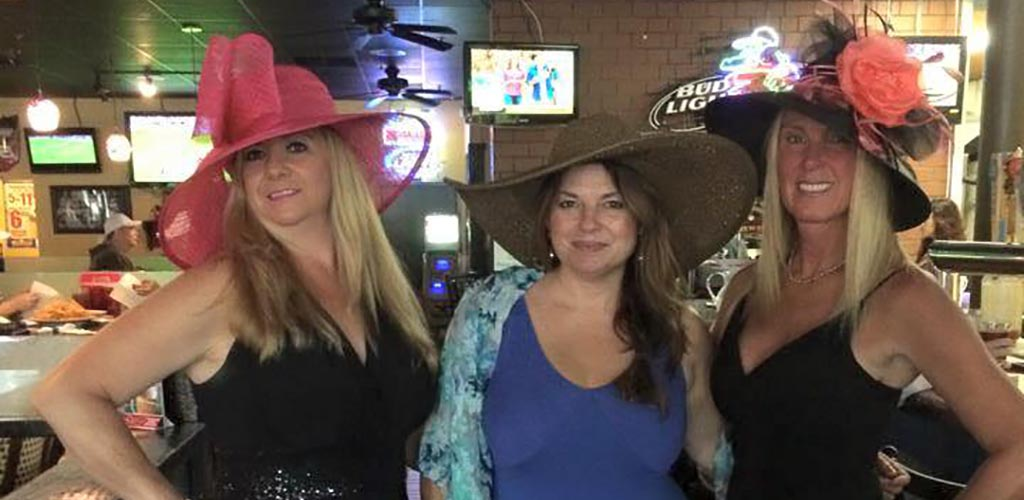 Mature women at Jerry's Sports Grille