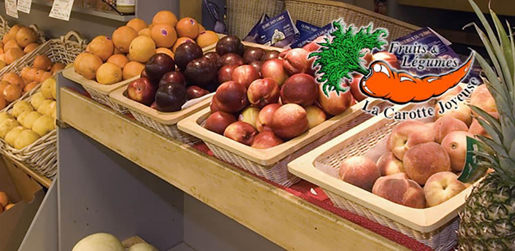 Fresh produce from Le Crac