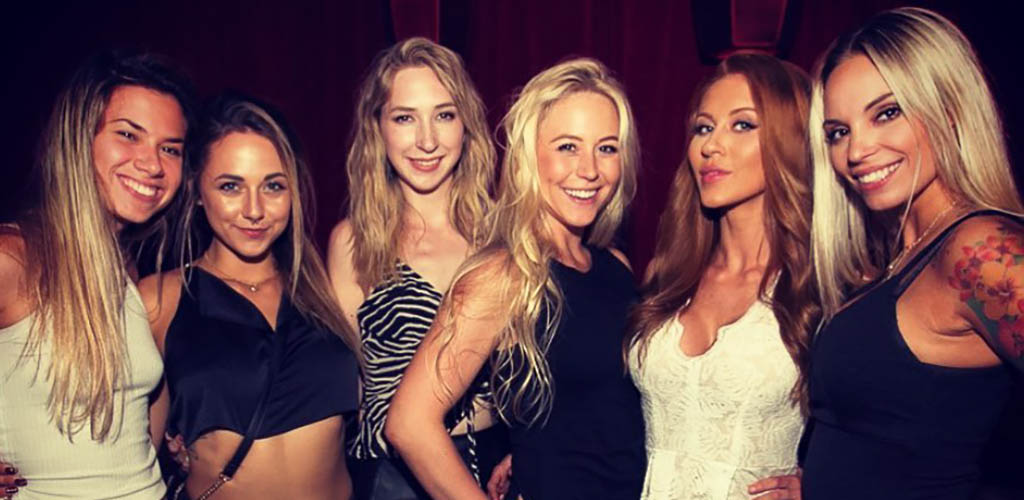 Beautiful cougars in Seattle all dressed up for a night out at Lucky Strike