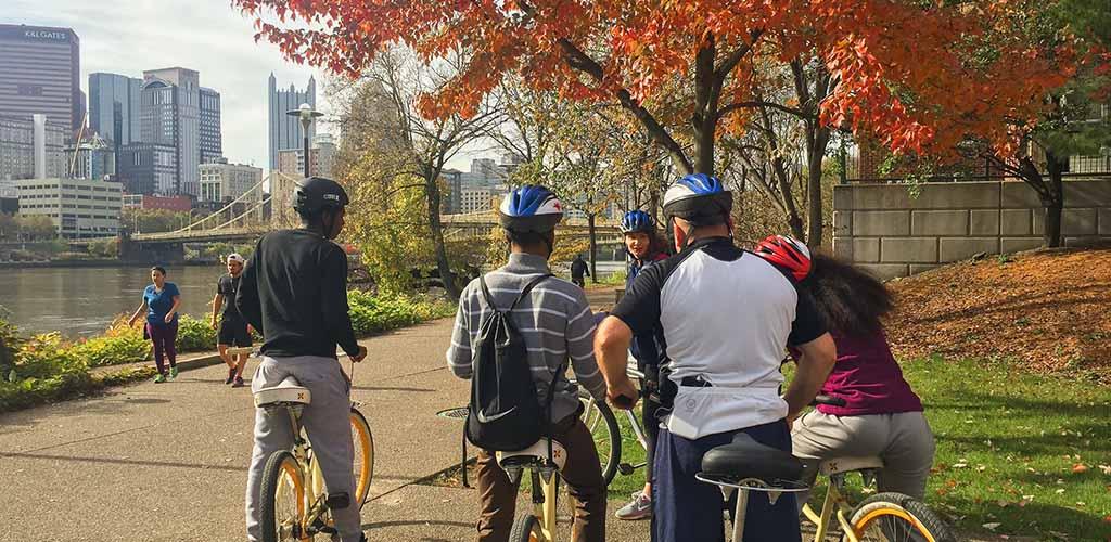 The Venture Outdoors Groupon a biking trip