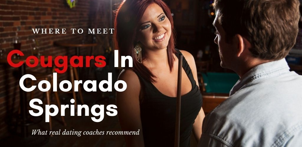 A young cougar from Colorado Springs with her date next to a pool table