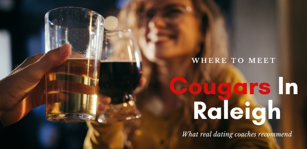 A Young cougar from Raleigh drinking in a bar